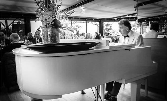 Piano bar - Les Jardins du Capitole - Restaurant Nice