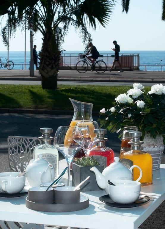 Petit Déjeuner & Brunch- Les Jardins du Capitole - Restaurant Nice