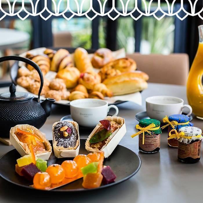 Petit Déjeuner - Les Jardins du Capitole - Restaurant Nice